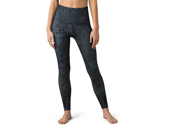 Prana Kimble Printed 7/8 Leggings Mujer, chalkboard tiles